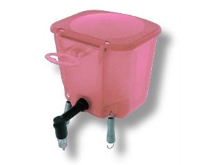 Поилка 0.5 л Розовая