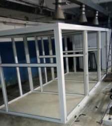Монтаж промышленного инкубатора иуп-ф-45